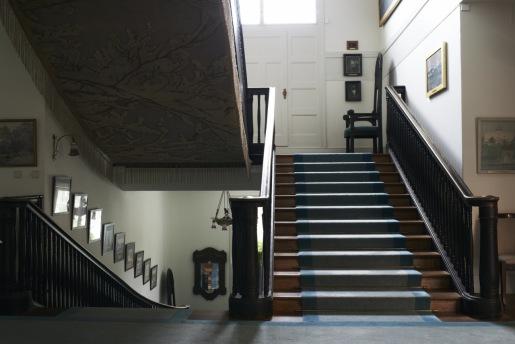Entréplanet upp mot övervåningen