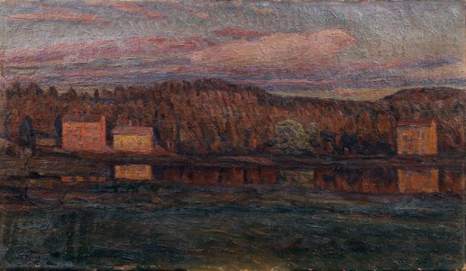 Herman Norrman: Vid ån, 1899