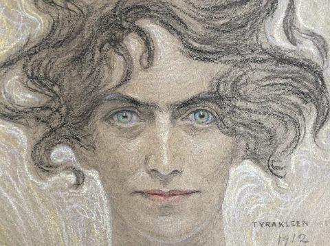 Vernissage med invigning. Tyra Kléen (1874–1951). Konstnär, vagabond, äventyrare