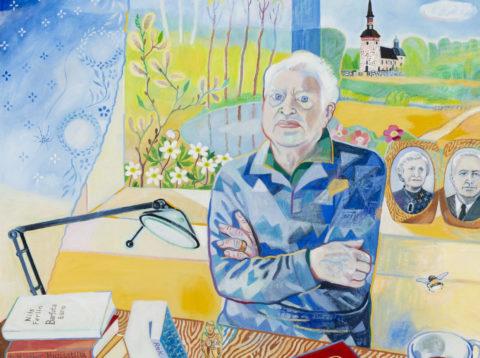 Salong. Anders Frostenson, den mångsidige psalmdiktaren med Irma Schultz, Dan Arvefjord med flera gäster