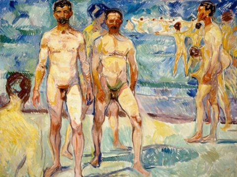 Edvard Munch on the beach. Naked men, photography and creativity in the turn of the twentieth century