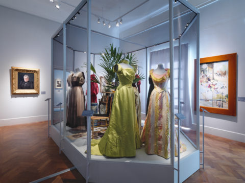 Current exhibition: Augusta Lundin. The First Fashion House in Sweden <br> 29 August 2020 — 24 January 2021